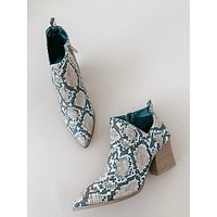 Candice Snake Booties