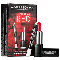 MAKE UP FOR EVER Redefining Red