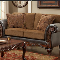 Santana Collection Loveseat by HD Furniture