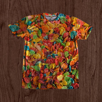 90's Kid Fruity Pebbles Shirt unisex Youth & Adult size tshirts USA Handmade *Fast Shipping*