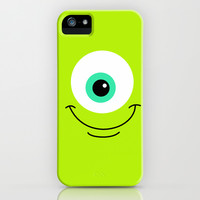 Mike Wazowski Smile iPhone & iPod Case by KrashDesignCo.