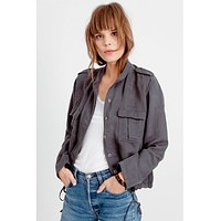 Rowen Jacket Dark Grey With Star