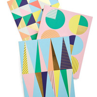 Pastel Geometric Musings Journal Set by Chronicle Books from ModCloth