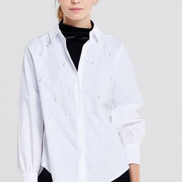 Ashely Pearl Shirt Discover the latest fashion trends online at storets.com