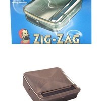Zig Zag Automatic Cigarette Rolling Metal Machine Tin