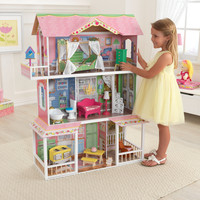 KidKraft Sweet Savannah Dollhouse with Furniture - 65851
