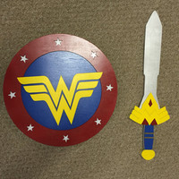 Wonder Woman Sword and Shield Cosplay Replica Set