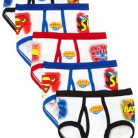 Fruit Of The Loom Little Boys'  Justice League Briefs (Pack of 5)