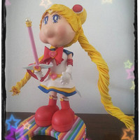 1 fofucha del anime Sailor Moon de Usagi Tsukino - Fofucha Moon