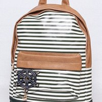 Blue Striples Navy Style Backpack GDR750 from topsales
