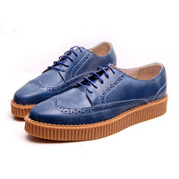 Street Fashion Style Genuine Leather Shoes