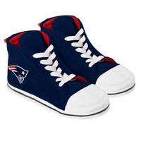 New England Patriots Men's Official NFL Puffy Sneaker Slipper