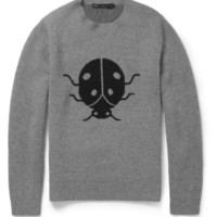 PRODUCT - Marc by Marc Jacobs - Ladybird-Patterned Merino Wool Sweater - 394441   MR PORTER
