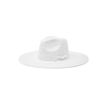 SAIL AWAY - Straw Panama Hat (White)