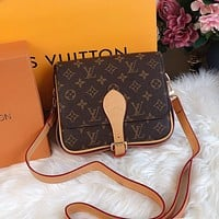 LV simple presbyopia women's horseshoe bag shoulder bag crossbody bag