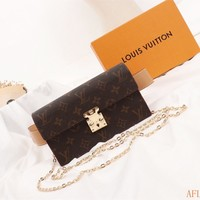Hcxx 19Oct Louis Vuitton LV 260 Monogram Canvas S Lock Discovery Bumbag Clutch Flap Pocket Wuff Bag 20-11.5-3.5cm
