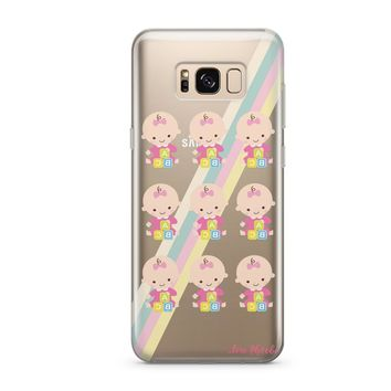 Phoebe X Milkyway Babies  - Clear Case Cover (Samsung)