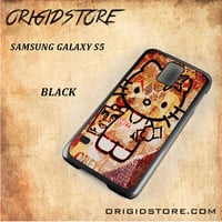 Obey Hello Kitty For Samsung Galaxy S5 Snap On and 3D Case