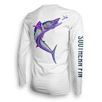 Performance Fishing Shirt Long Sleeve (Wahoo)