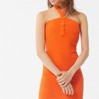 UO Lola Y-Neck Sweater Dress   Urban Outfitters