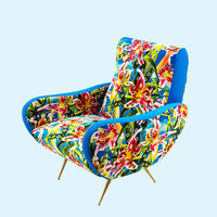 Armchair Flowers with holes - Shoptoiletpaper