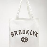 Brooklyn Graphic Canvas Tote