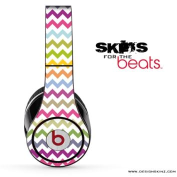 Colorful Chevron Pattern Skin for the Beats by Dre