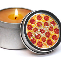 PIZZA SCENTED CANDLE