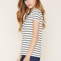 Striped Knit Top | Forever 21 - 2000177816