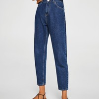 Mom relaxed jeans - Woman | MANGO Denmark