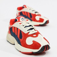 adidas Originals Yung-1 Sneakers In Red Multi at asos.com