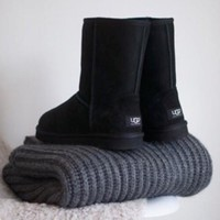 """""""UGG"""" Autumn And Winter Women More Color Fashion New Male Wool Snow Keep Warm Boots Shoes"""