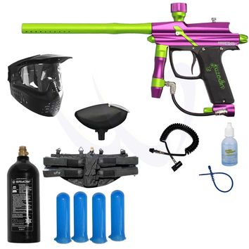 Azodin BLITZ Evo Electronic Paintball Marker Gun Power Package - Alien - Paintball Store WaveToGo