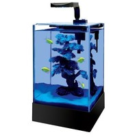 Aqueon Cue LED Blue Moonglow Aquarium Kit 5 gal