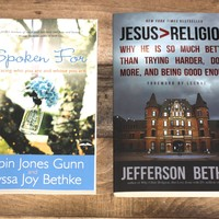 Signed & Personalized Copy of Jesus > Religion & Spoken For