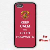 iPhone 5 Case, harry potter iphone 5 case, keep calm and go to hogwarts iphone 5 case, iphone case