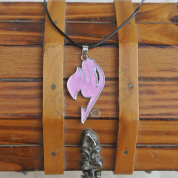 Fairy Tail necklace,Cosplay wear,Fairy Tail Guild Symbol,Anime necklace,Fairy Tail pendent,Manga jewelry,Fairy Tail,Fandom necklace