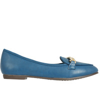Hefner Chain Loafer - Teal