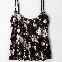 AEO Women's Floral Swing Cami