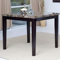 Contemporary 42 x 42 inch Counter Height Dining Table