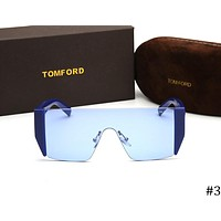 TOM FORD 2018 new men and women square flat lens sunglasses F-ZXJ #3