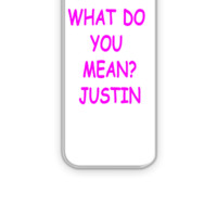 Justin Bieber What Do You Mean - iPhone 5&5s Case