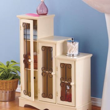 Accent Decor Entry Hall Hallway Cabinet End Side Table Book Shelf Case Storage