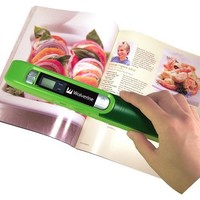 Wolverine PASS200 Handheld Portable Documents, Books and Photo Scanner