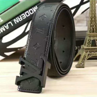 LV Fashion Contracted Smooth Buckle Belt Leather Belt G-A-GFPDPF