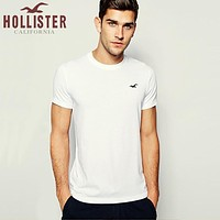 New Hollister California Mens Shirt Sleeve T shirt 100% COTTON TOP-1