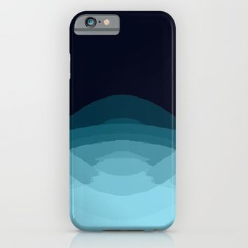 Teal  Ombra iPhone & iPod Case by SimplyChic