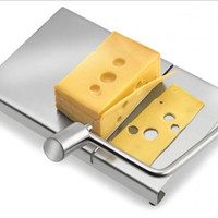 Stainless Steel Cheese Slicer Table Set