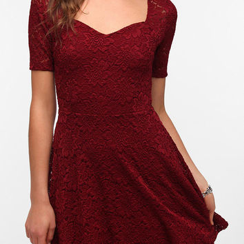 Urban Outfitters - Pins and Needles Sweetheart Lace Dress