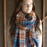 Cider Creek Scarf [6189] - $28.80 : Vintage Inspired Clothing & Affordable Dresses, deloom | Modern. Vintage. Crafted.